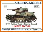IBG 35074L - 7TP Polish Tank - Single Turret LIMITED EDITION 1/35