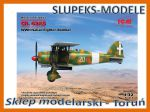 ICM 32023 - CR. 42AS WWII Italian Fighter-Bomber 1/32
