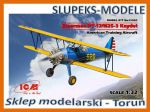 ICM 32050 Stearman PT-17/N2S-3 Kaydet , American Training Aircraft 1/32