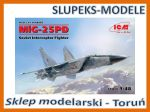 ICM 48903 - MiG-25 PD Soviet Interceptor Fighter 1/48