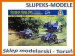 Italeri 7026 - German Guns Set PAK37, PAK40, FLAK38 1/72