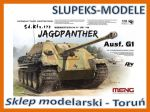 Meng Model TS-039 - German Tank Destroyer Sd.Kfz.173 Jagdpanther Ausf.G1 1/35