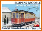 MiniArt 38020 - Soviet Tram X-Series Early Type 1/35