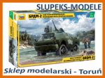 Zvezda 3638 - Sovied Armored Reconnaissance Vehicle BRDM-2 1/35